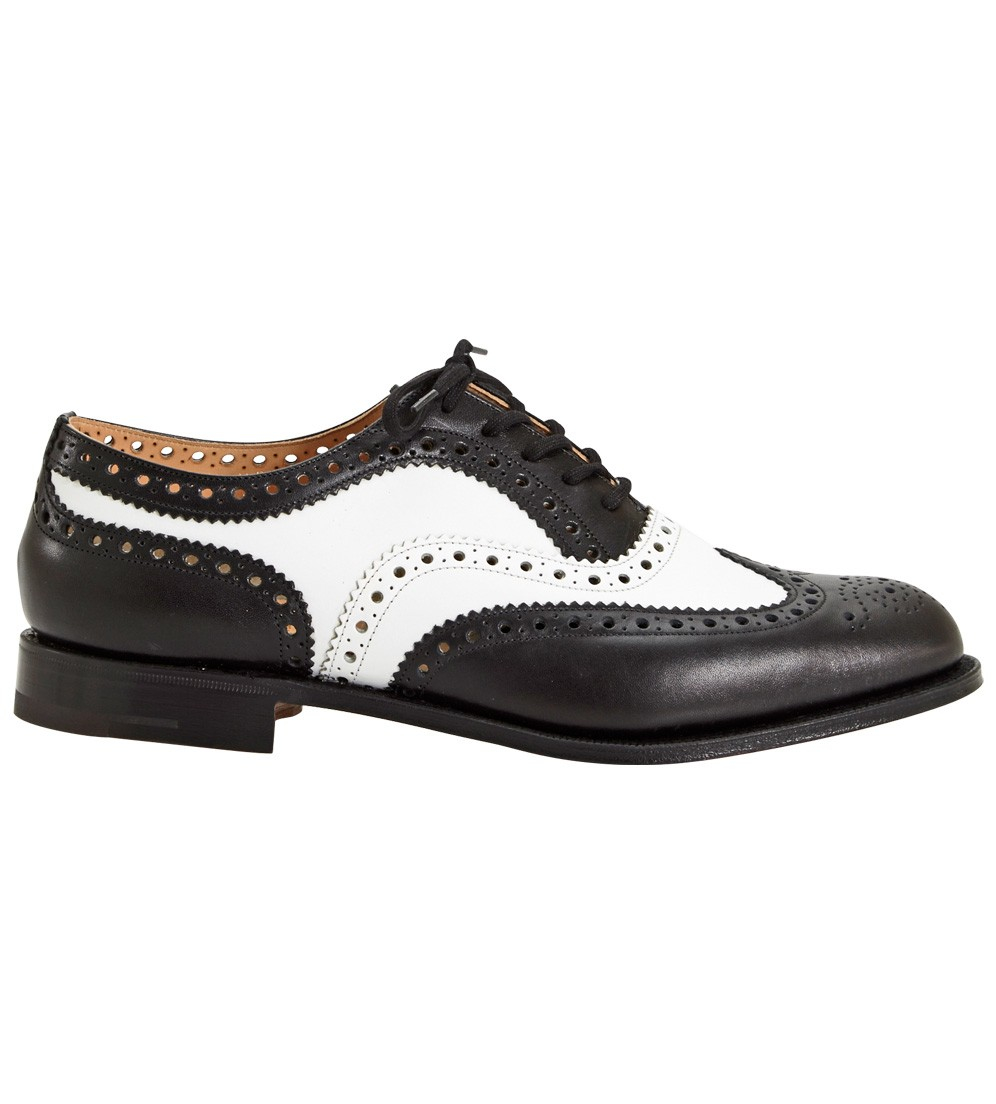 church s prestige shoe in black for black and