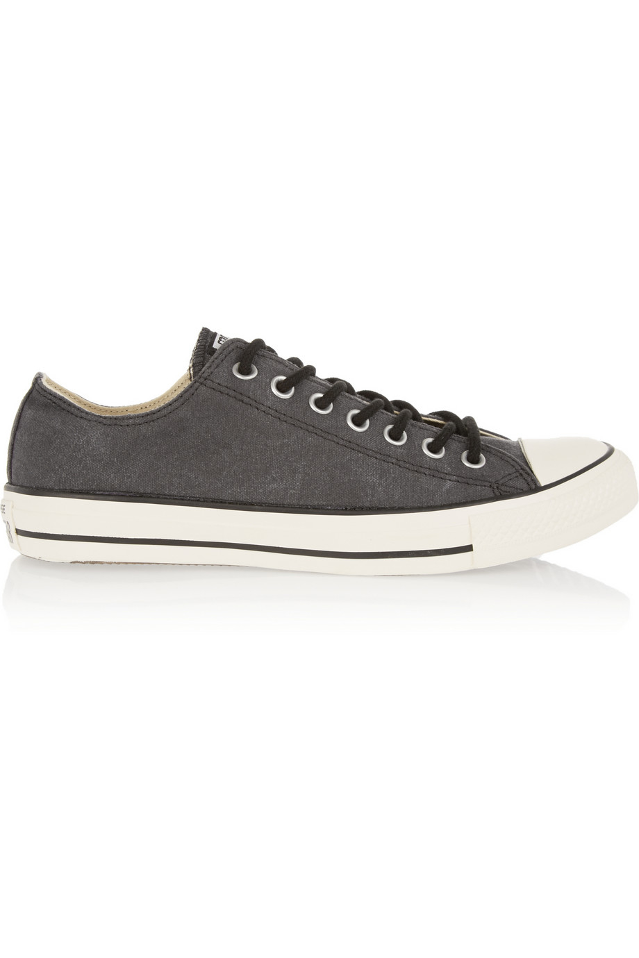 Converse chuck taylor canvas sneakers in gray lyst - Graue converse ...