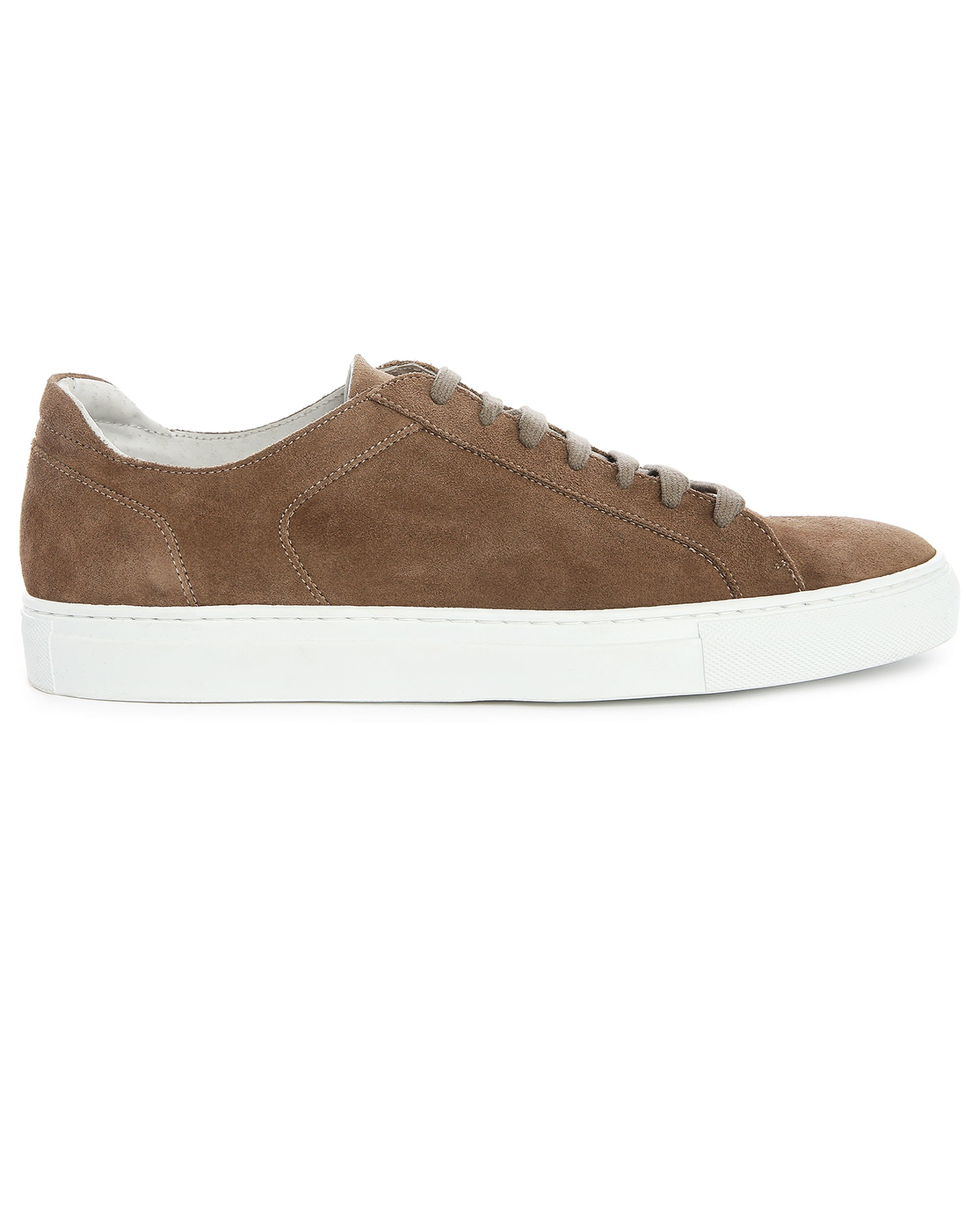 Taupe andry suede trainers in natural for men lyst - Beige slaapkamer taupe ...
