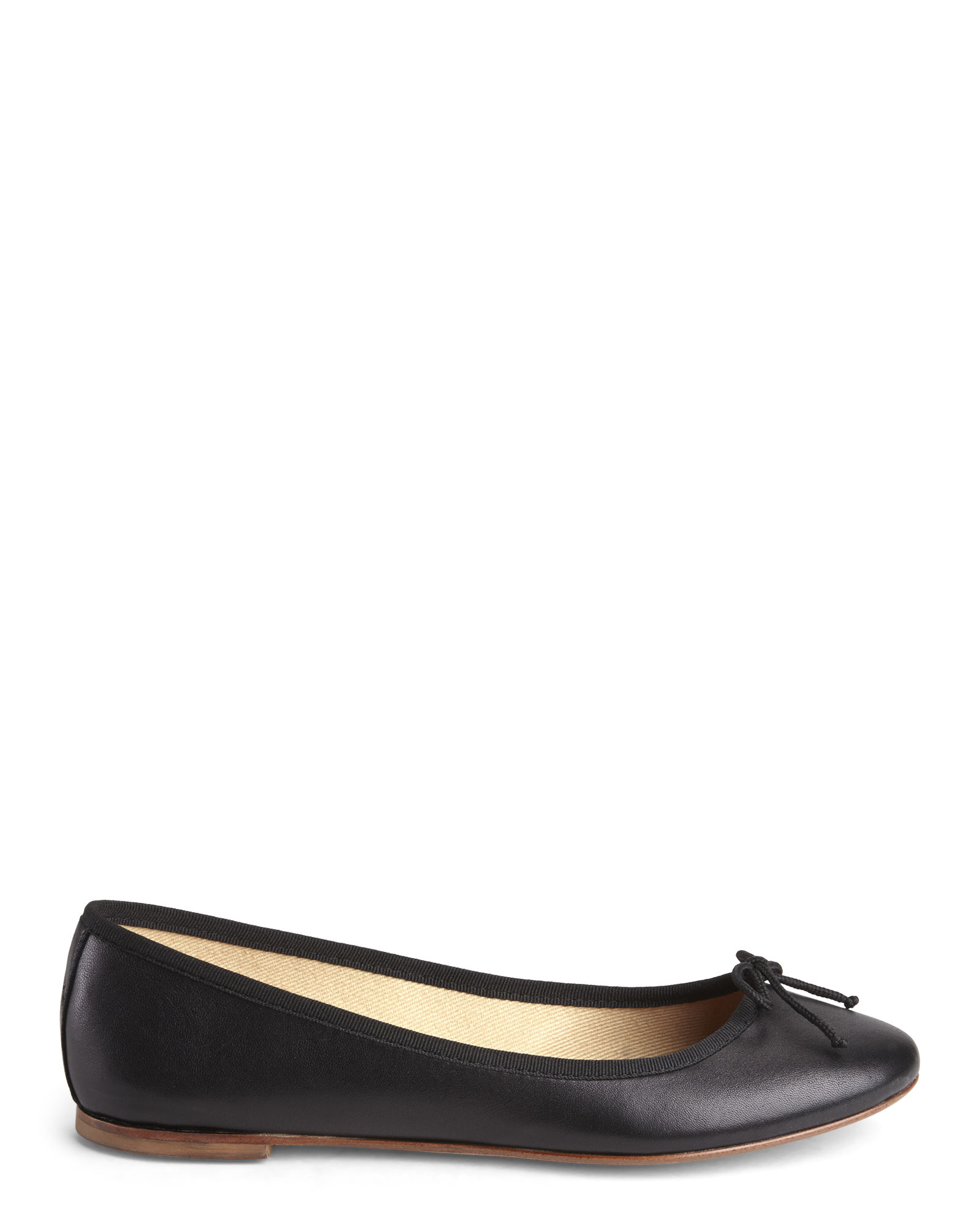 L Autre Chose Leather Ballet Flats