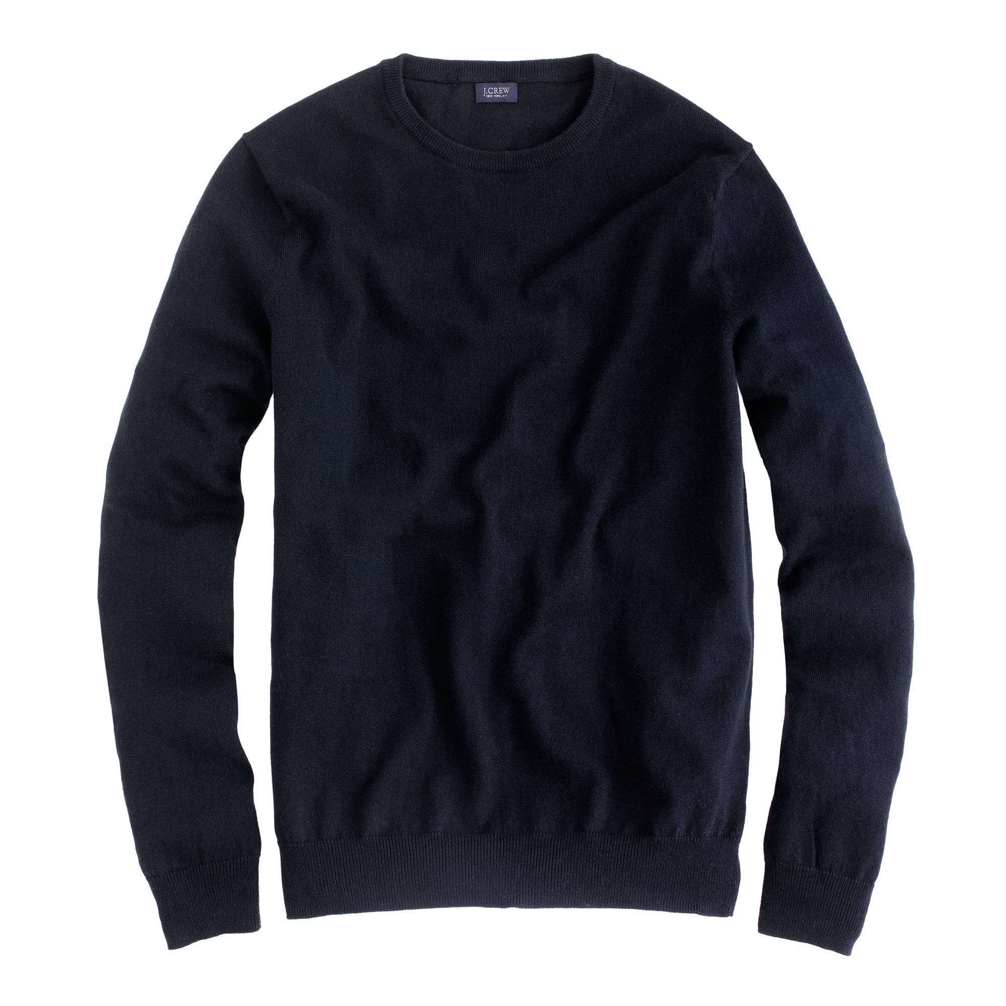 Try our Men's Cotton Cashmere Crewneck Sweater at Lands' End. Everything we sell is Guaranteed. Period.® Since