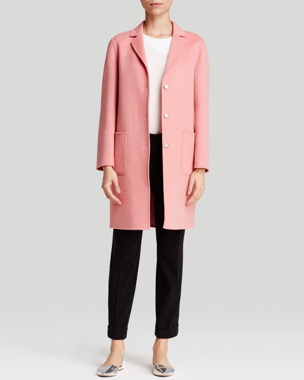 Weekend by maxmara Coat - Gloria Short in Pink | Lyst