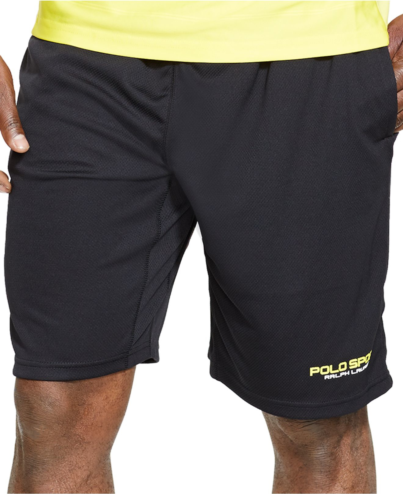 polo ralph lauren polo sport jersey athletic shorts in. Black Bedroom Furniture Sets. Home Design Ideas