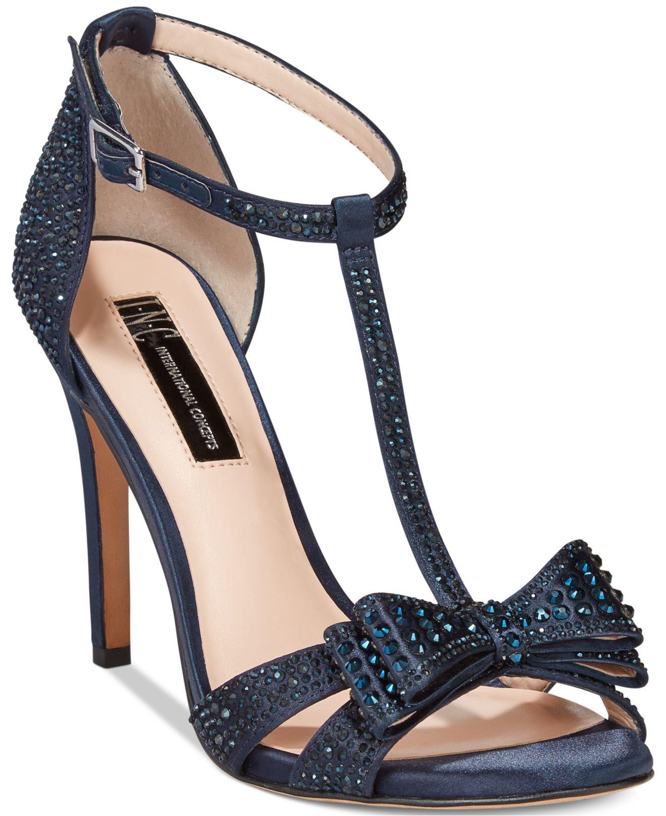 Macys Mens Blue Dress Shoes