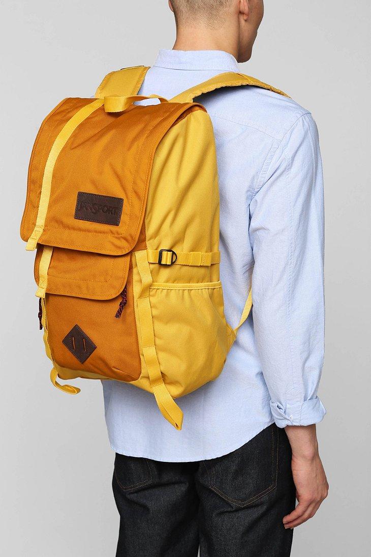 Jansport Hatchet Backpack In Yellow For Men Lyst