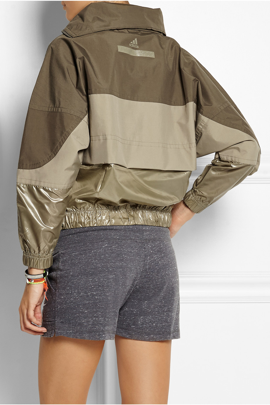 Adidas By Stella McCartney Stella Sport Windbreaker Jacket Run Gym Sporty