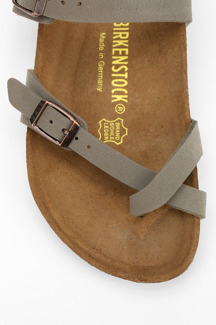 82fea75a235c Lyst - Birkenstock Mayari Toehold Sandal in Gray