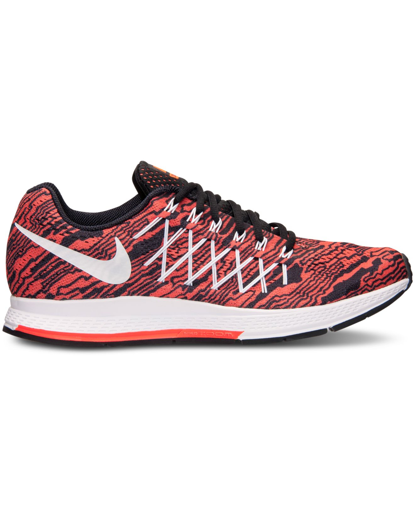 bb4850e5a167 ... spain lyst nike mens zoom pegasus 32 print running sneakers from finish  97b7e c24a2