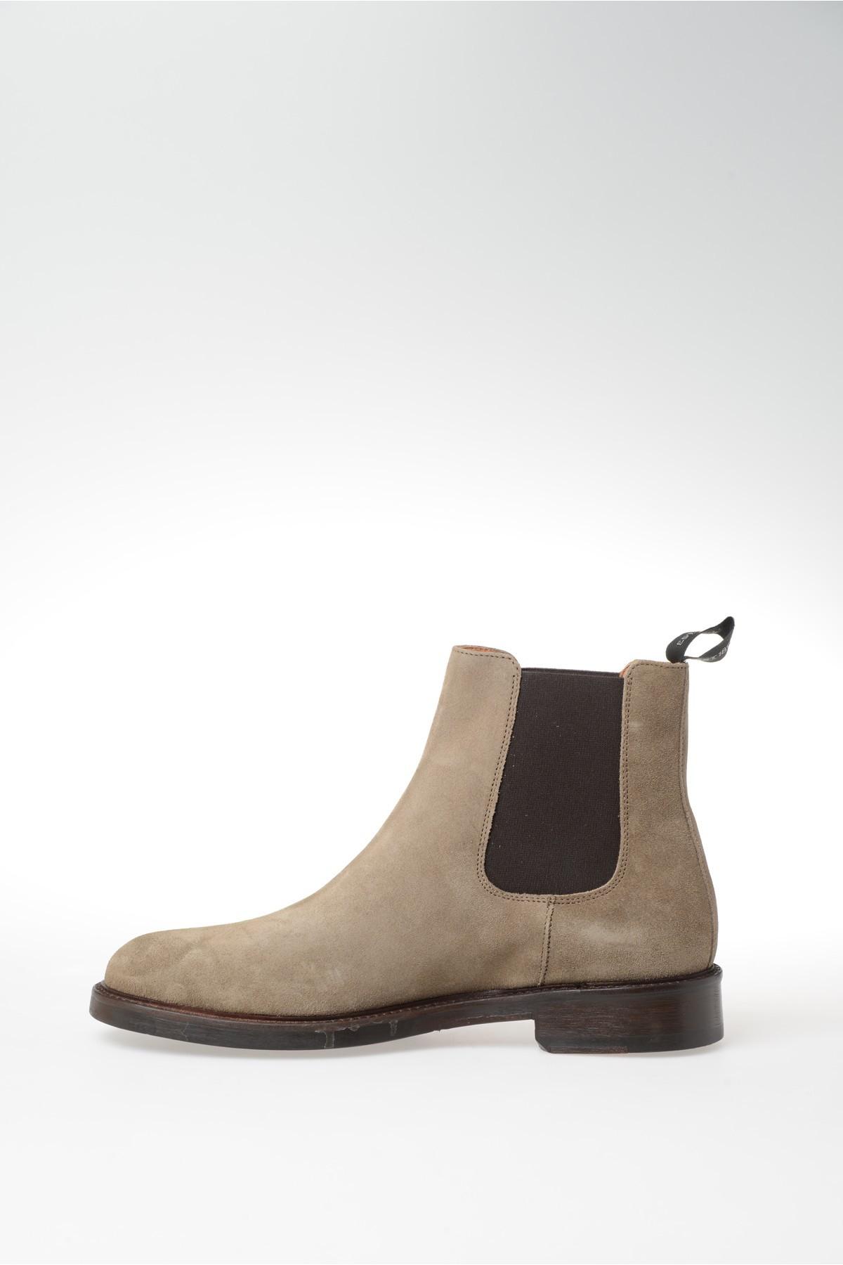 florsheim suede chelsea boots in beige for men lyst. Black Bedroom Furniture Sets. Home Design Ideas