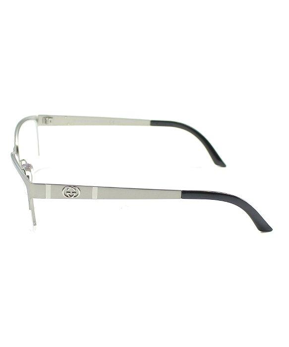 e05c53f091 Gucci Gg 4236 Cqk Ruthenium Semi Rimless Eyeglasses in .