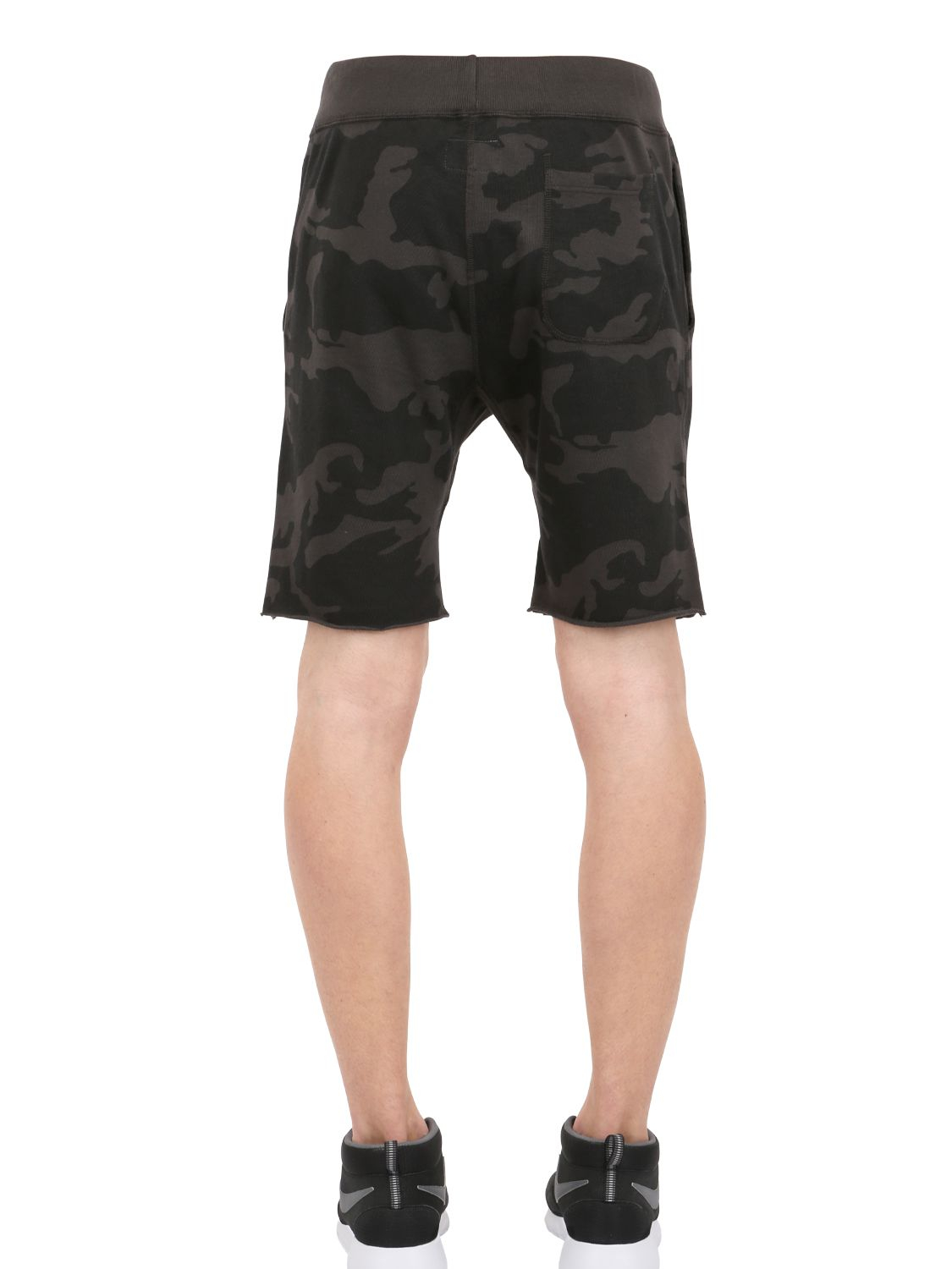 Todd Synder X Champion Camouflage Printed Cotton Jogging ...
