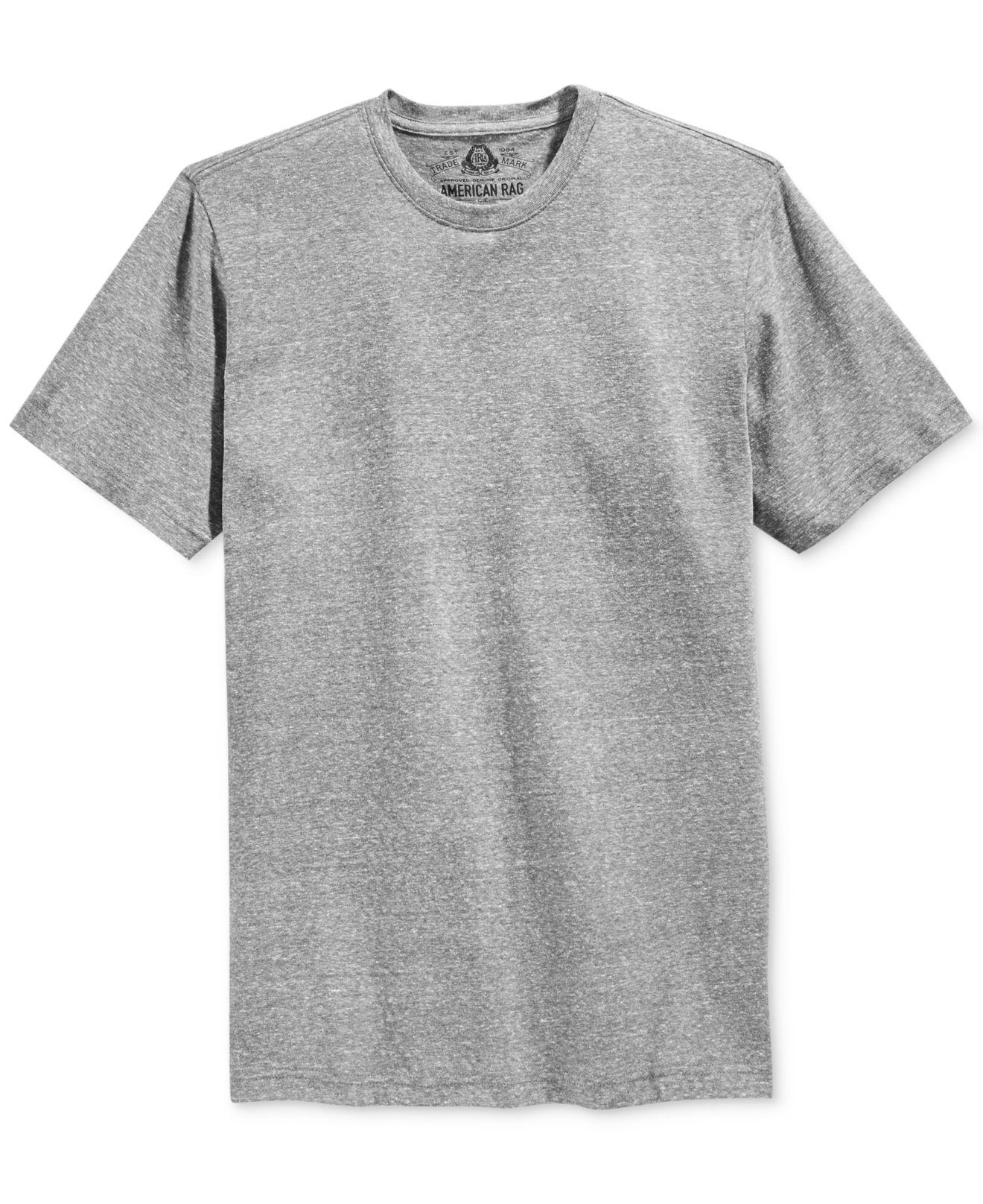 American Rag Men 39 S Solid Tri Blend Big Tall T Shirt In