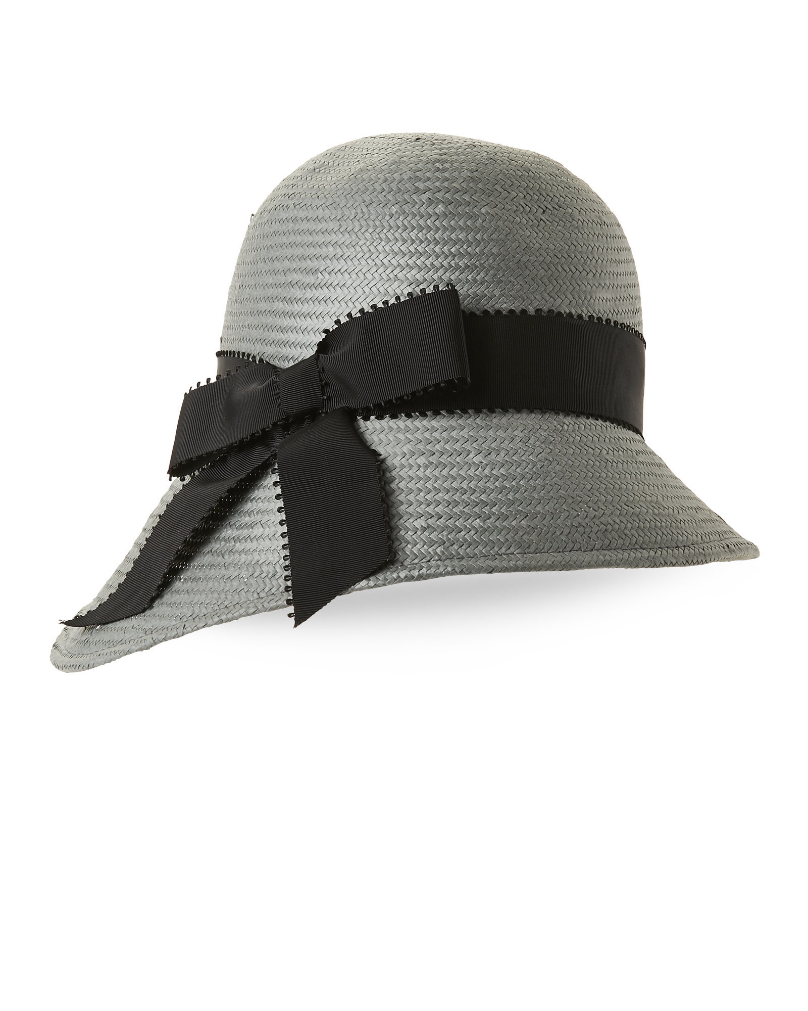 Lyst Kathy Jeanne Asymmetrical Cloche In Gray