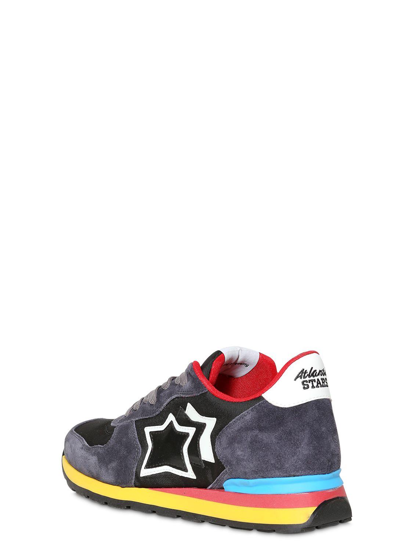 Antares Suede \u0026 Nylon Sneakers