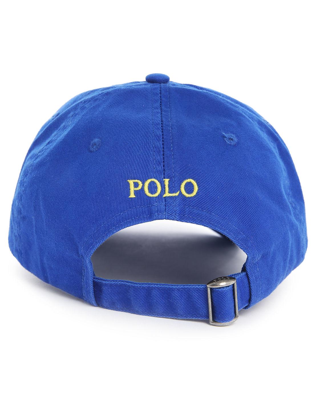 polo ralph lauren blue classic logo cap in blue for men lyst. Black Bedroom Furniture Sets. Home Design Ideas