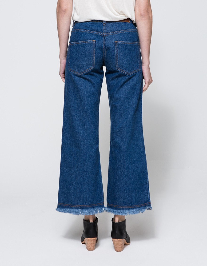 objects without meaning flare jean vintage in blue lyst