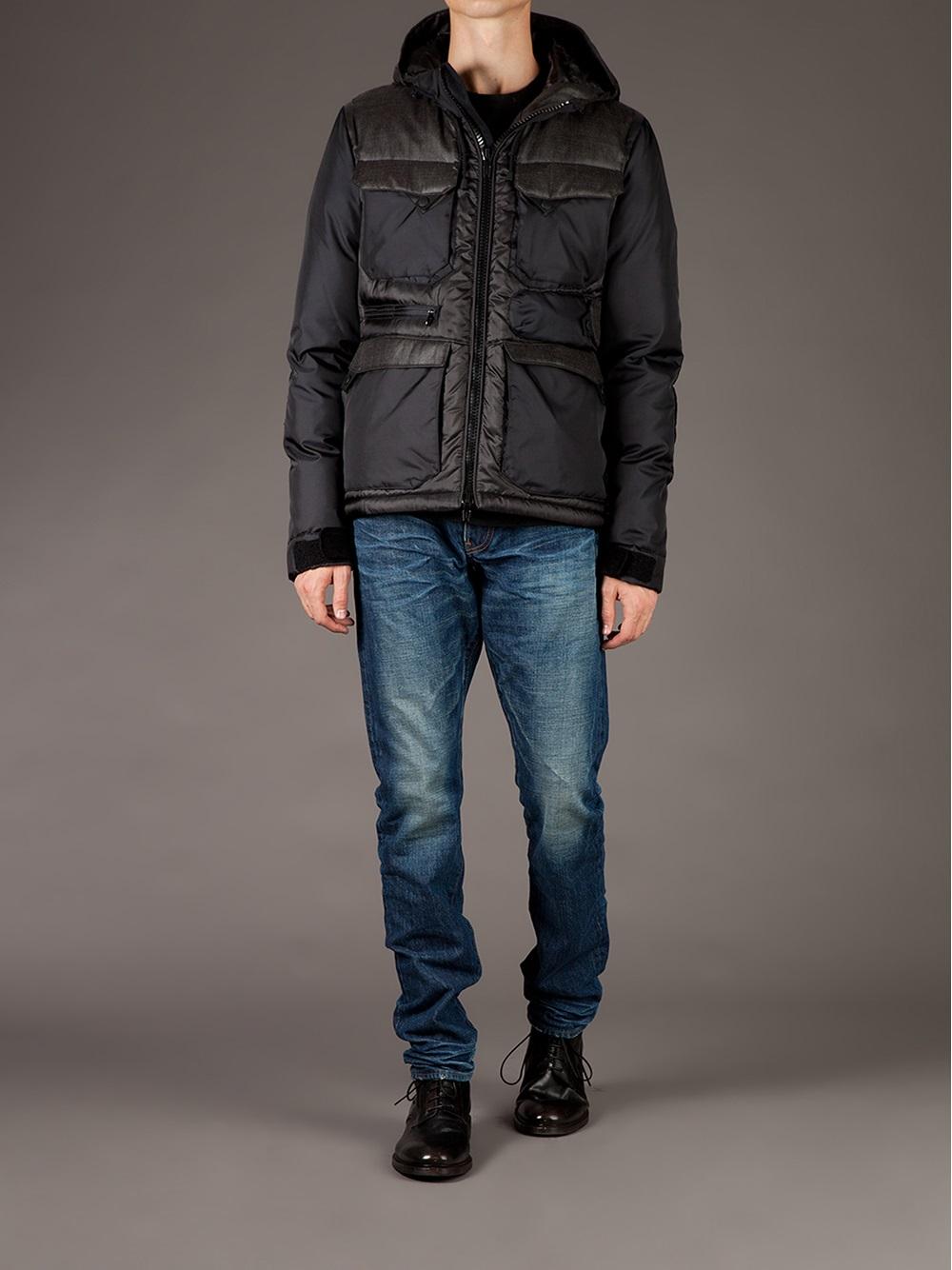 Lyst Moncler Folgore Padded Jacket In Black For Men