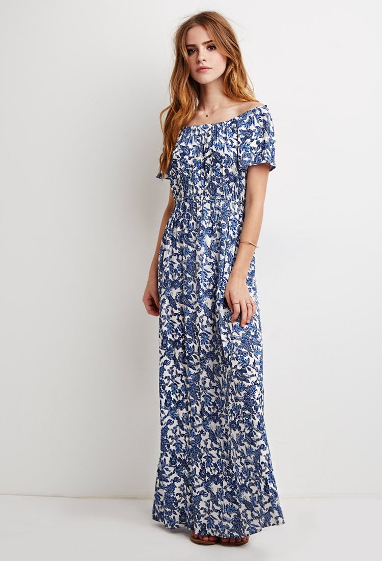 one shoulder white dress forever 21