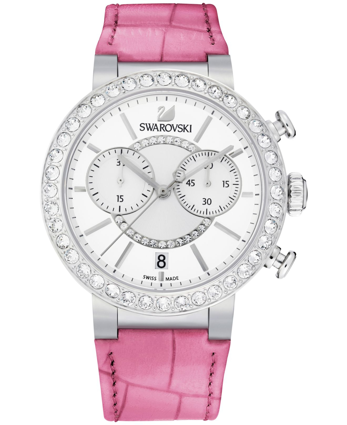 women watches index hair womenswatches s pink swarovski vanilla womens watch forzieri crystal dress calf