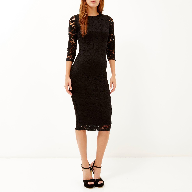 lace midi dress - photo #31