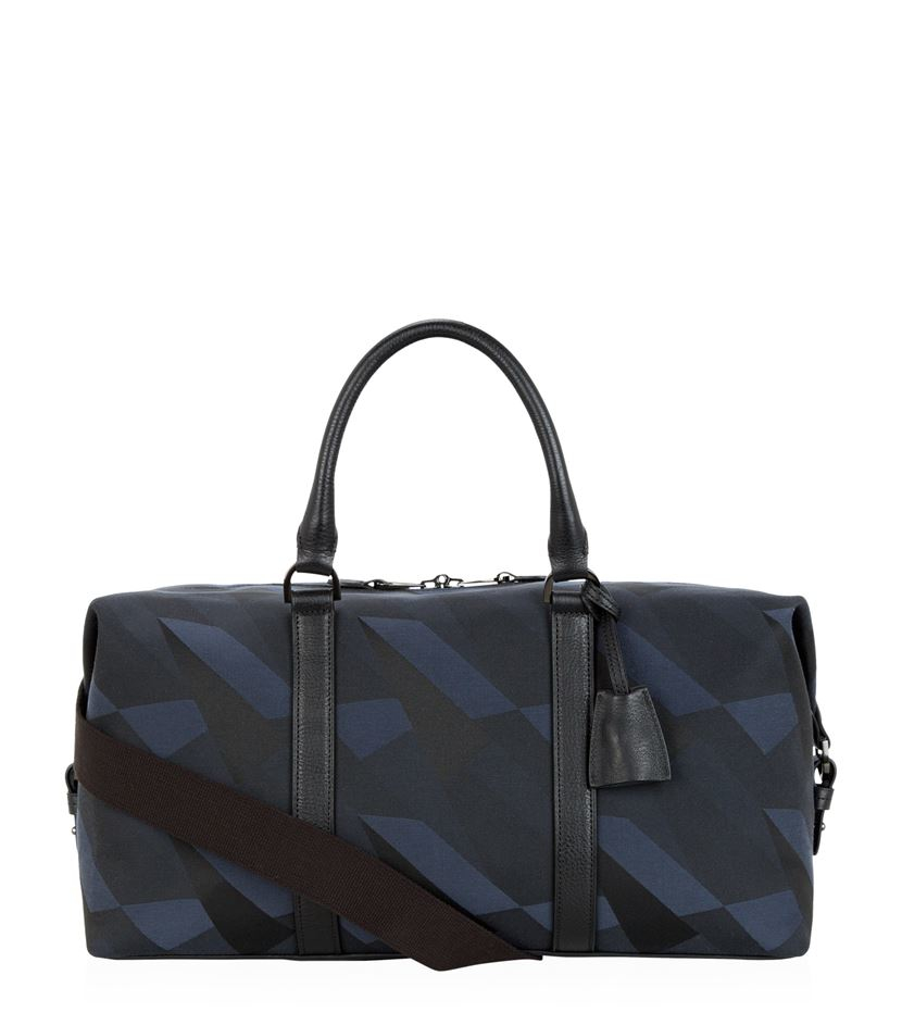 4ae2a566c9 ... where can i buy mulberry camo canvas clipper bag in blue for men lyst  29321 7d416