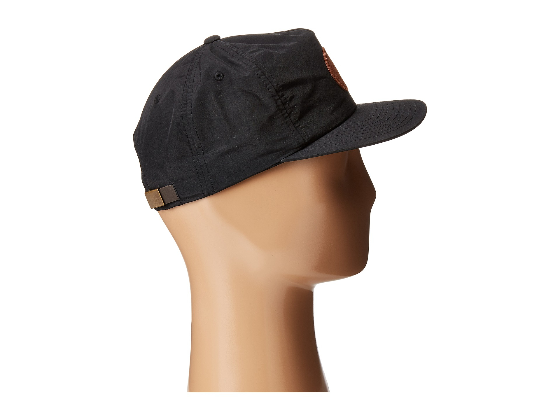 obey telegraph hat in black for lyst