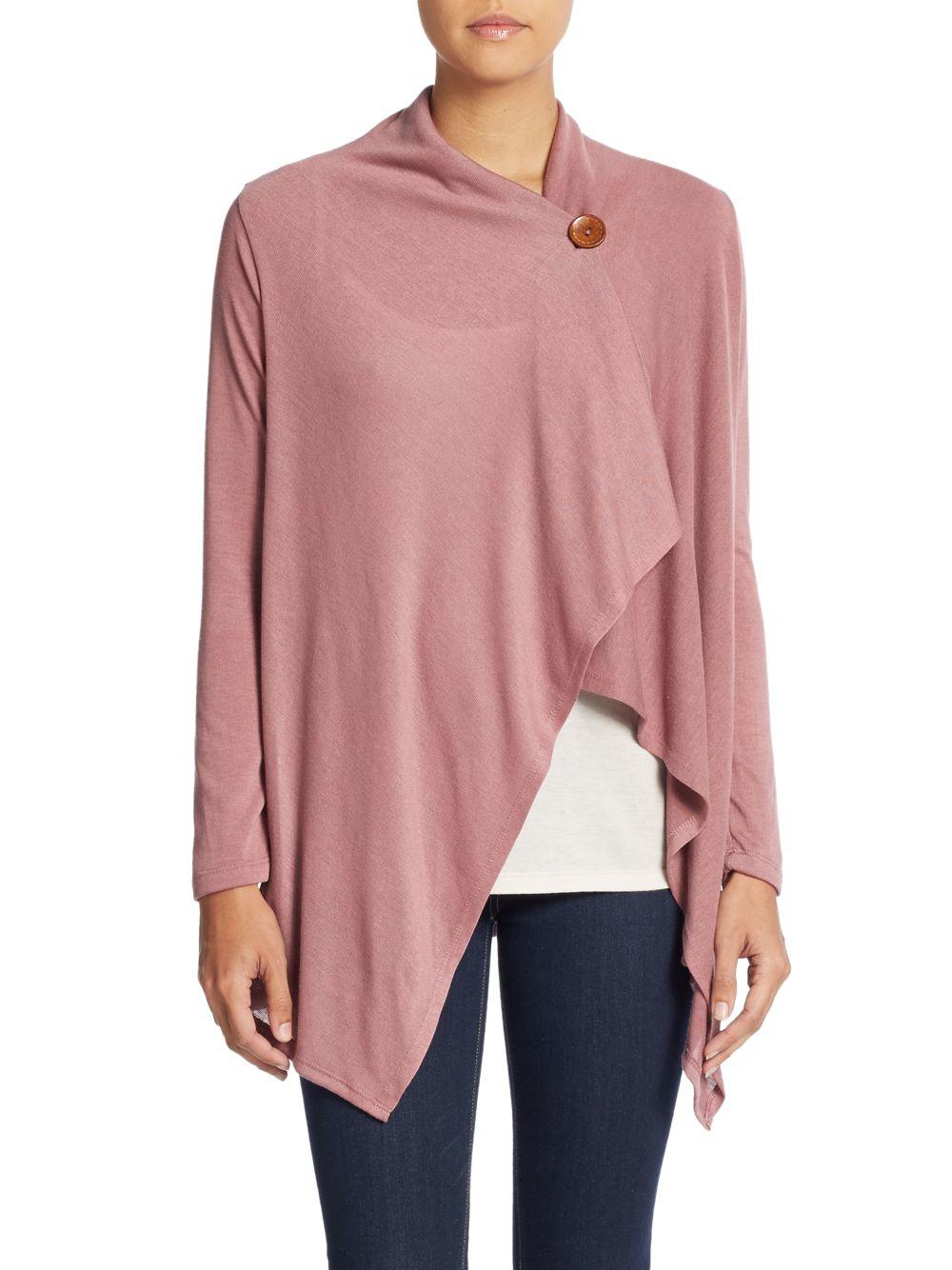 Purple V Neck Sweater