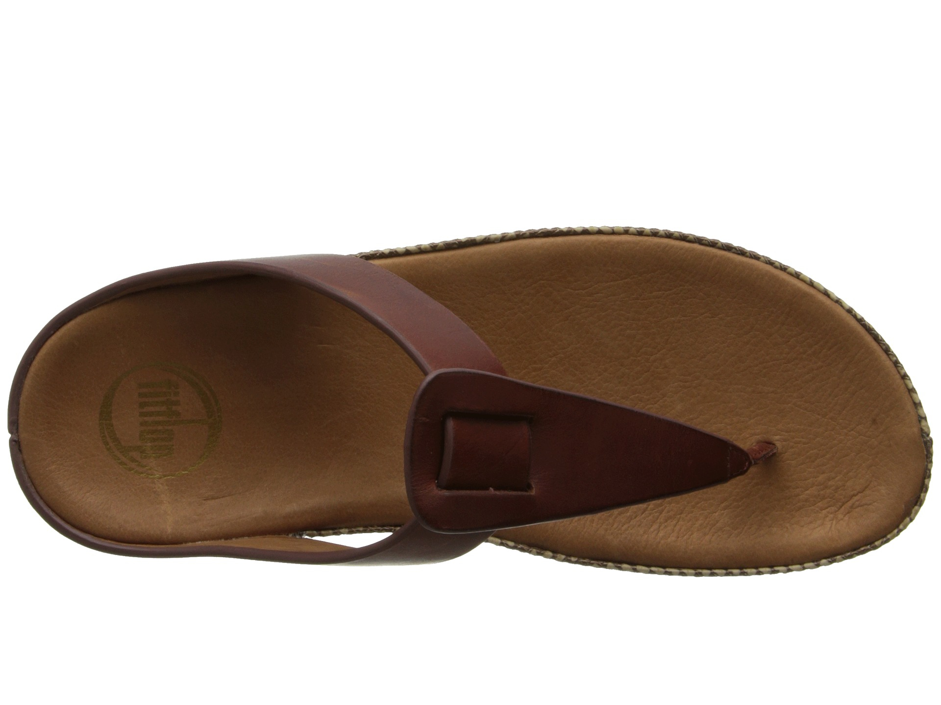 d2a36f7dc Lyst - Fitflop Ibiza in Brown