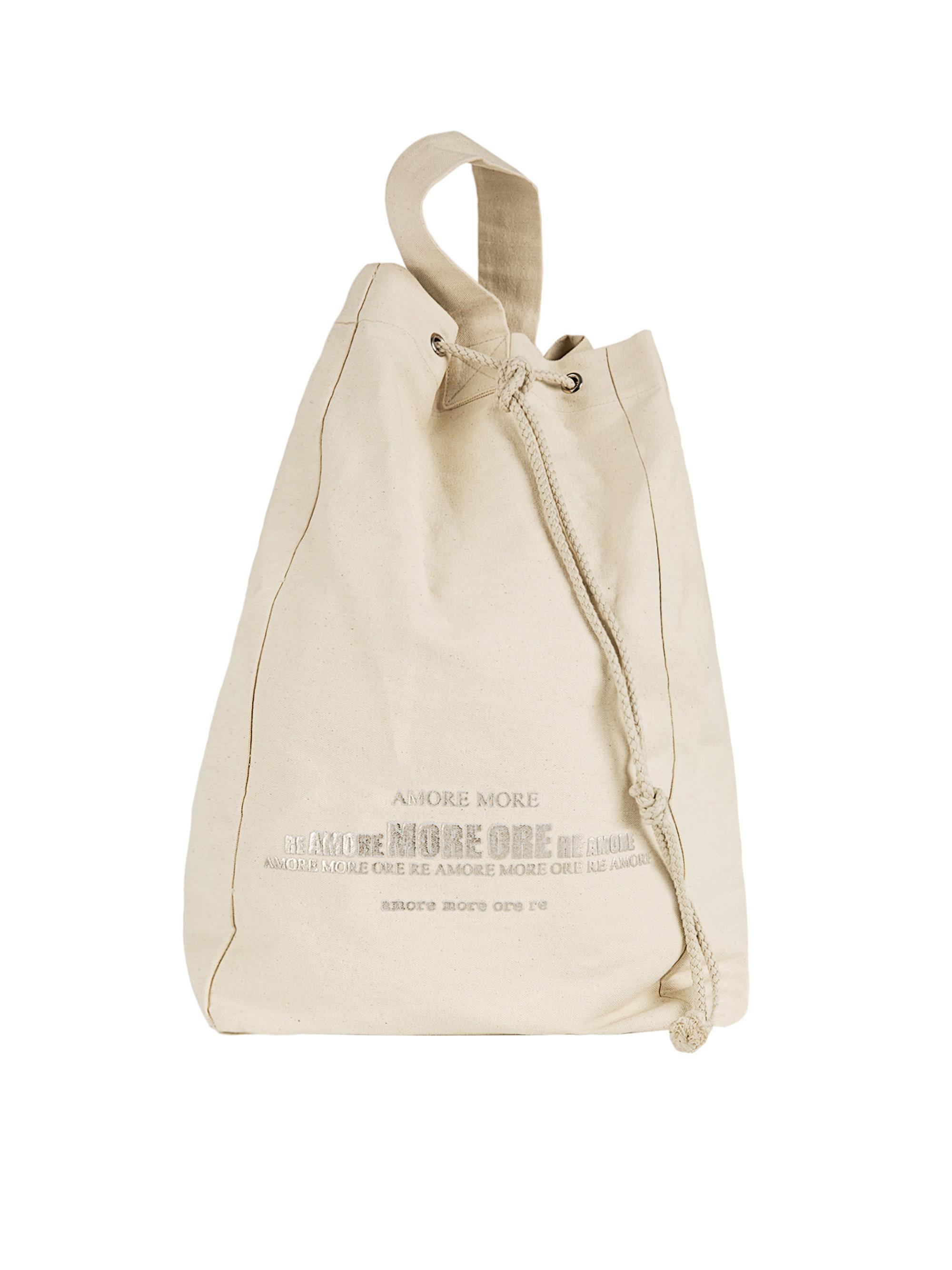 Brunello cucinelli Cotton Beach Bag in Natural | Lyst