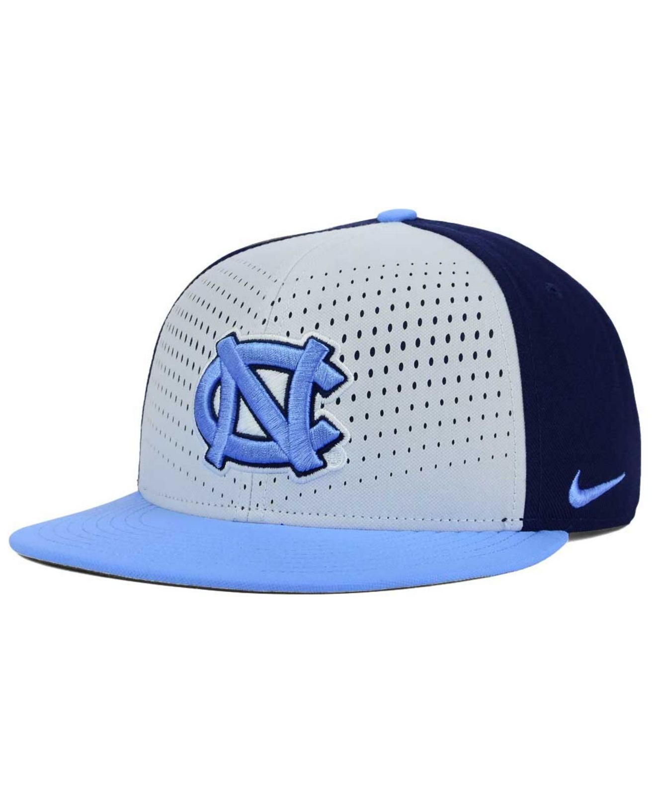sale retailer de3f8 2e9ec cheap order lyst nike north carolina tar heels true seasonal snapback cap  in 31fb0 887fa 8d7fb