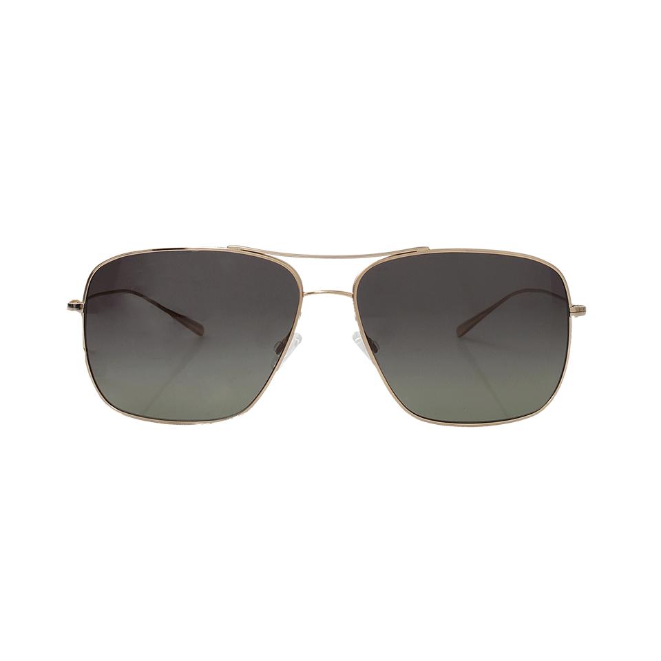 Oliver Peoples Berenson Sunglasses in Gold (Metallic) for Men