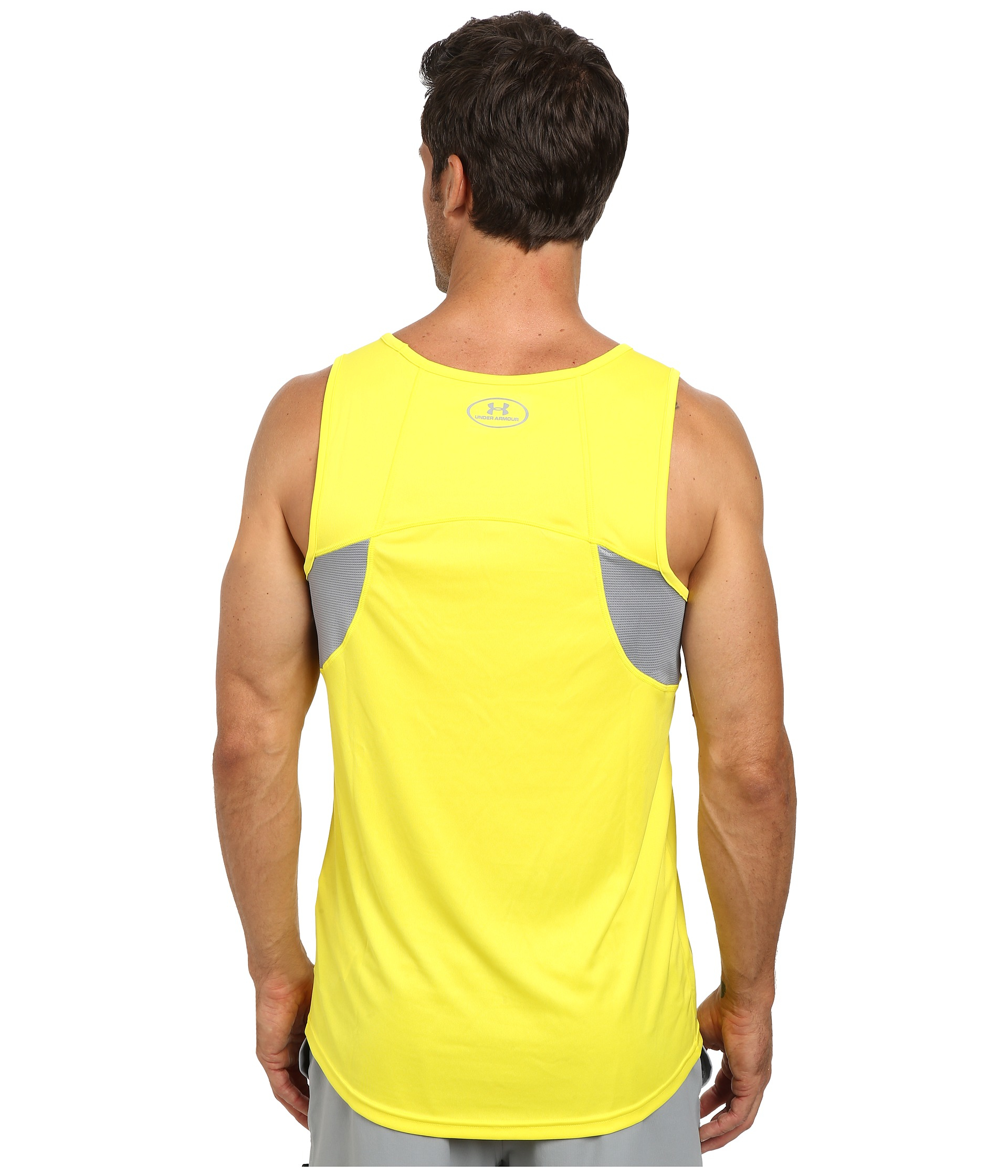 Lyst - Under Armour Ua Coldblack® Singlet in Yellow for Men 869785f3c