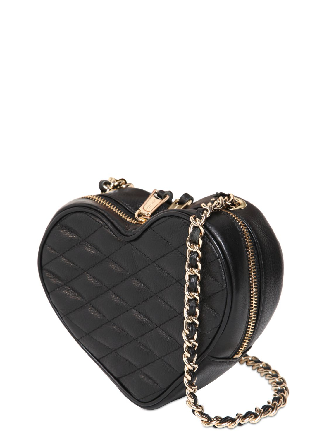 Lyst Rebecca Minkoff Heart Quilted Leather Shoulder Bag
