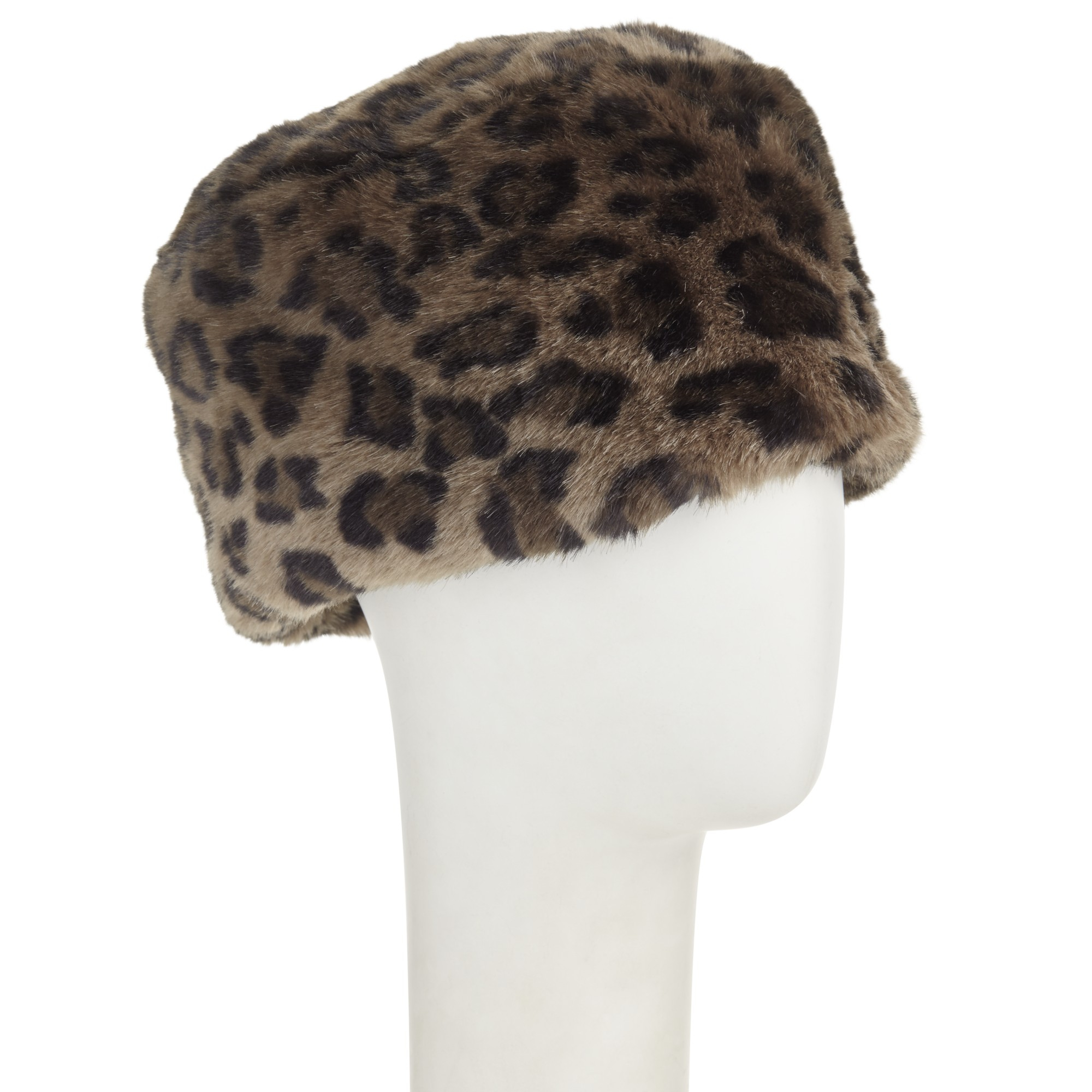 b515230d7 John Lewis Multicolor Faux Fur Cossack Hat