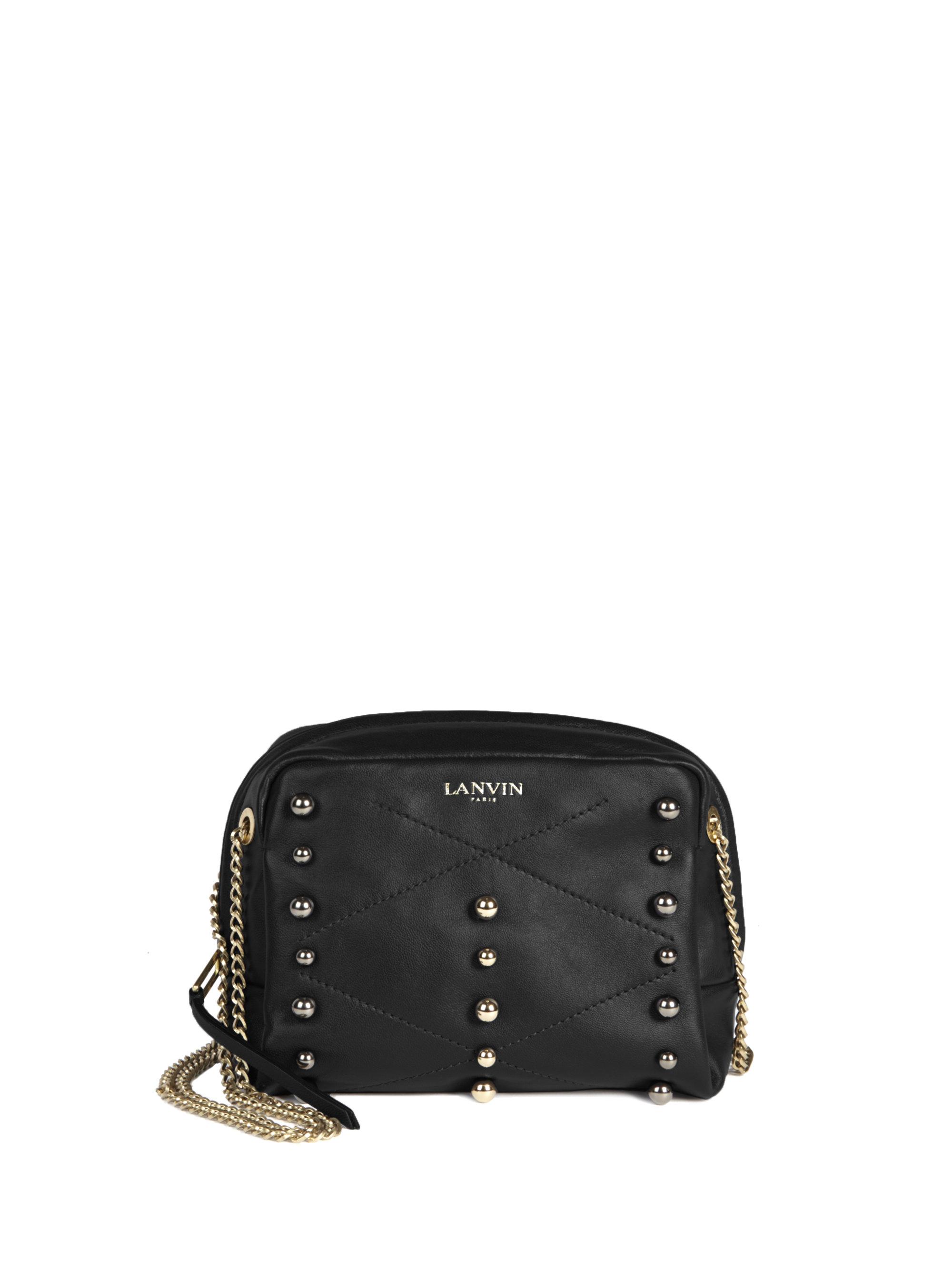 mini Sugar stud handbag - Black Lanvin 1UYMlnY38