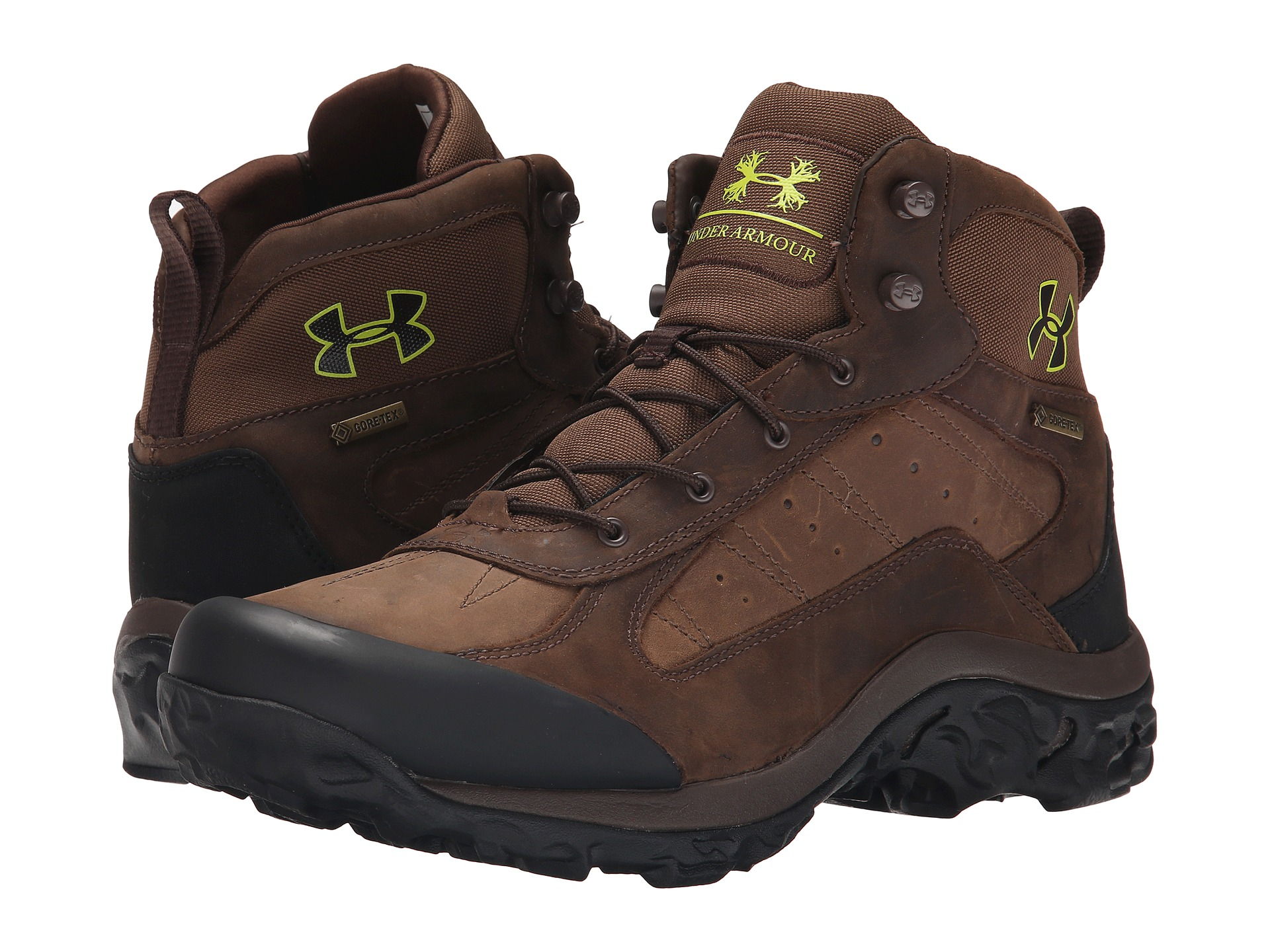 5ebfa05d0 Under Armour Ua Wall Hanger Leather Mid in Brown for Men - Lyst