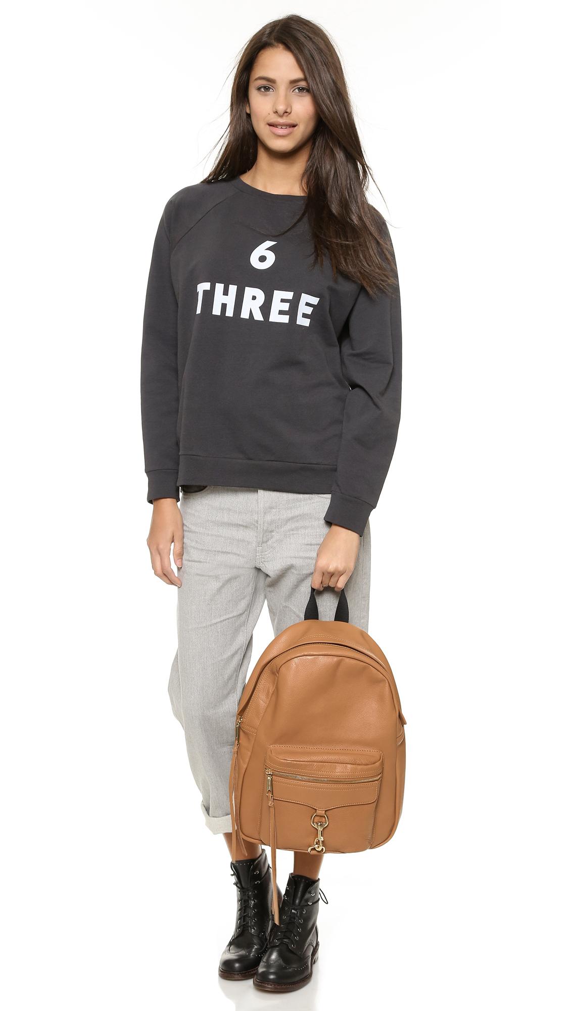 Rebecca Minkoff Mab Backpack - Fatigue in Brown