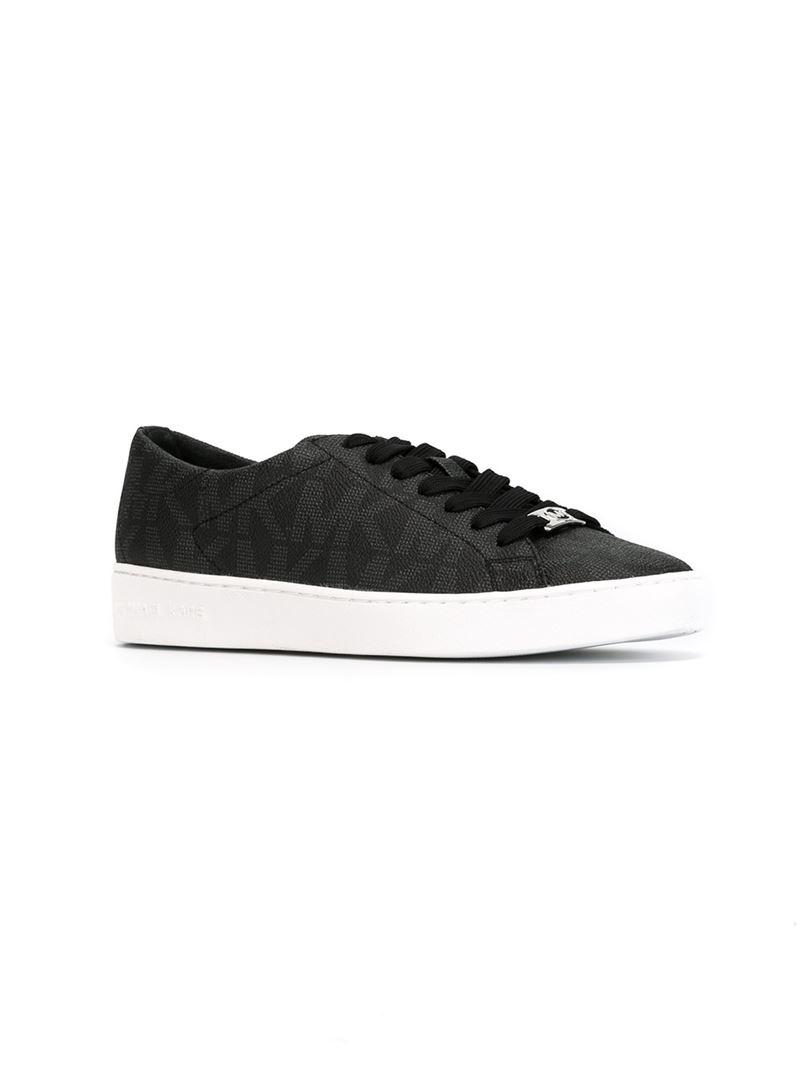 Michael Kors 'keaton' Logo Sneakers in Black