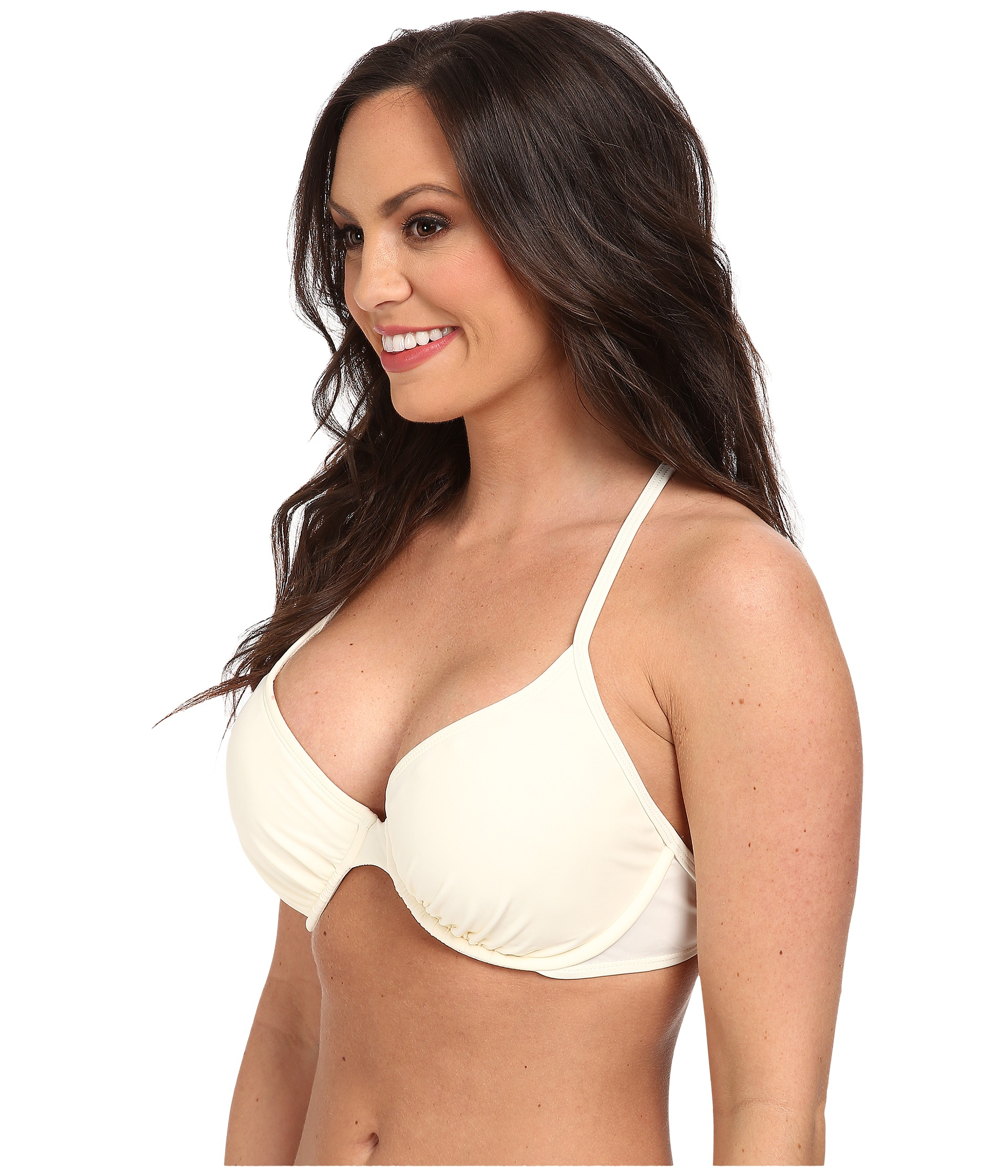 b7a897663b Body Glove Smoothies Solo Underwire Top D-Dd-E-F Cup in White - Lyst