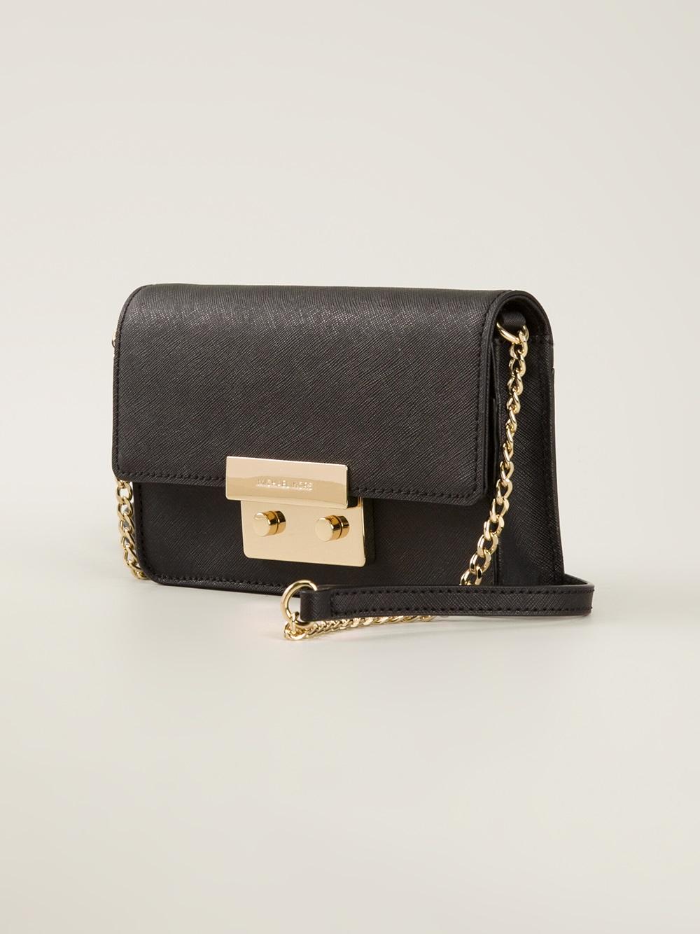 Michael kors bags black and gold