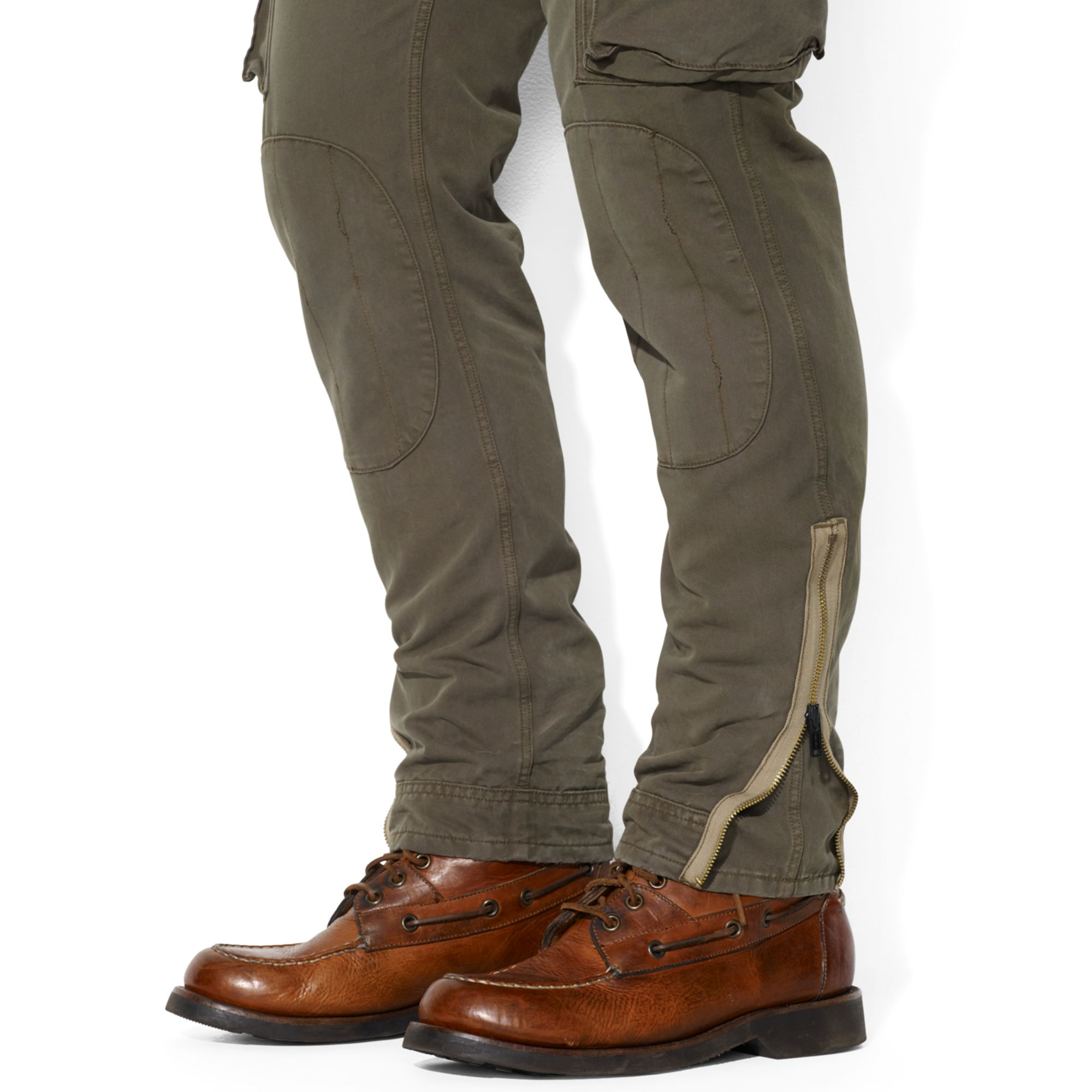 Ralph lauren Polo Straightfit Italian Cargo Pants in Natural for ...