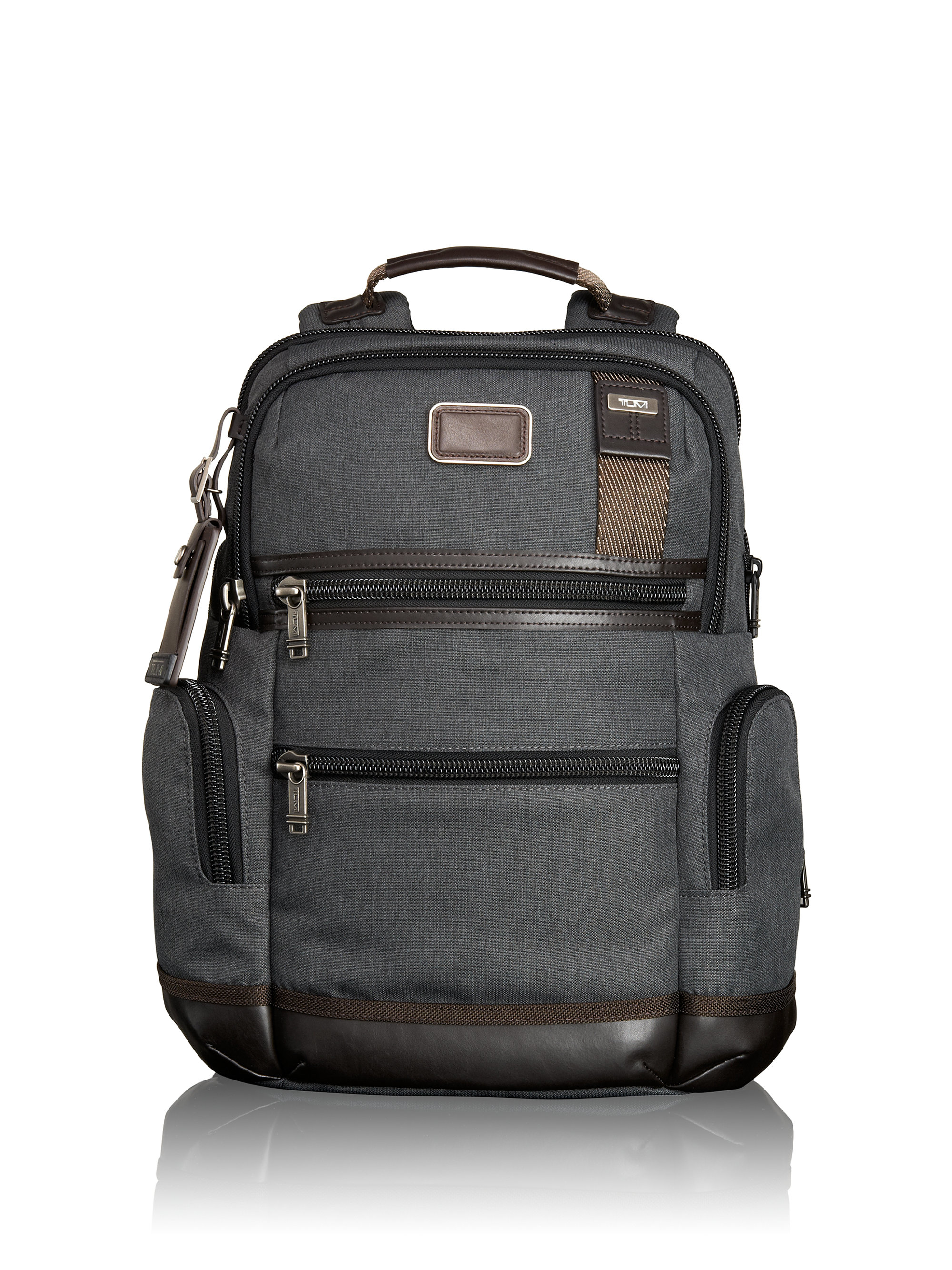 Tumi Alpha Bravo Knox Backpack In Gray For Men Anthracite