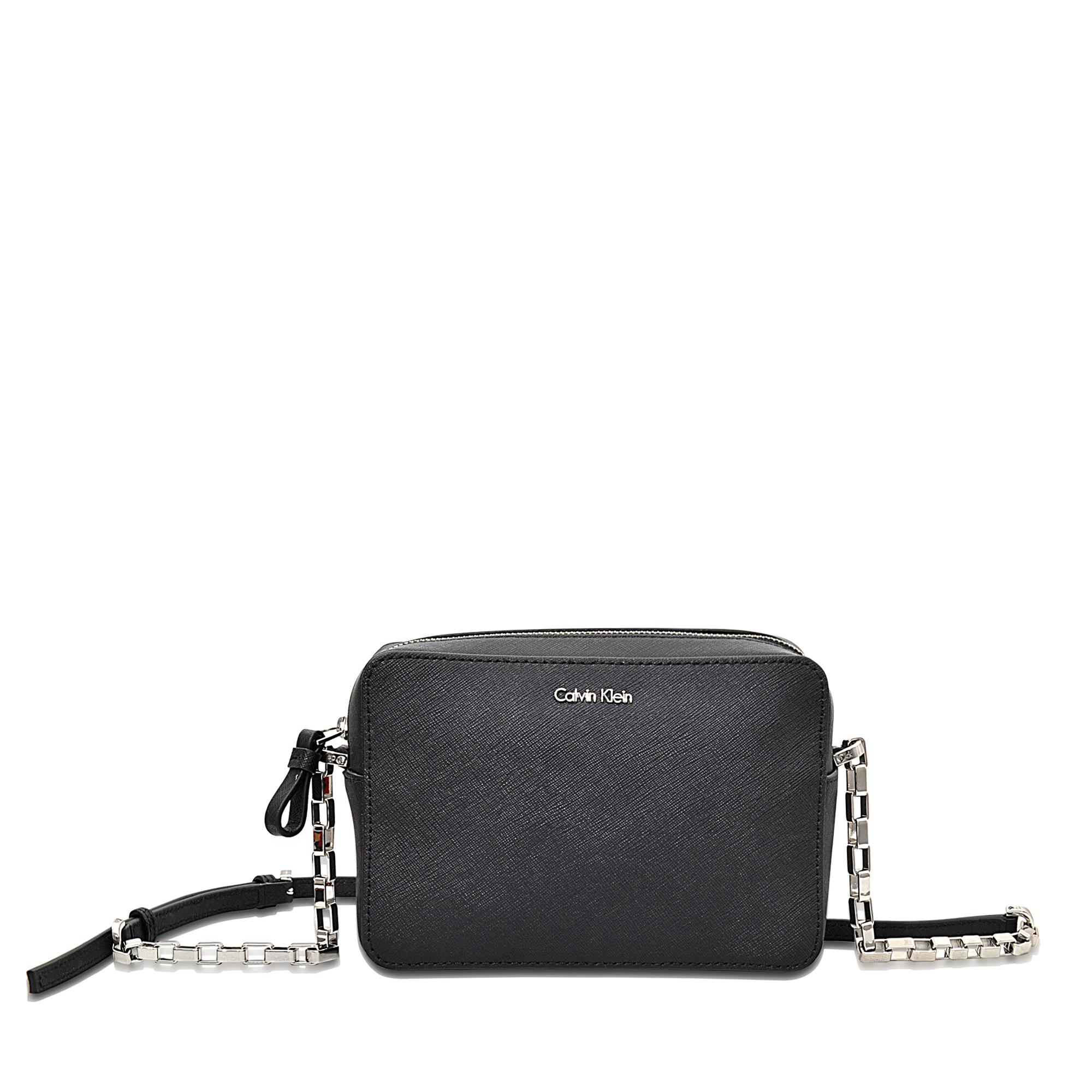 05919178d0 Calvin Klein Sofie Mini Crossbody Bag in Black - Lyst