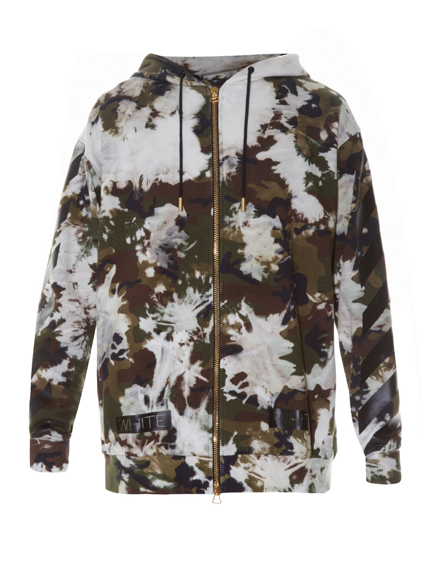 48ede0ad10e7 Lyst - Off-White c o Virgil Abloh (beige) Camouflage Print Hoodie in ...