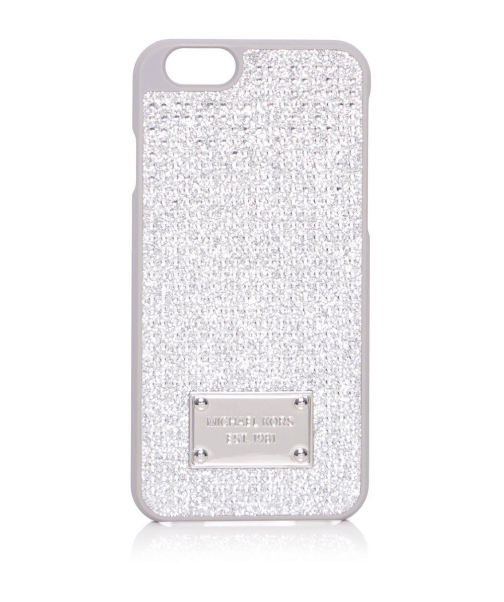 uk availability 56e33 a565d MICHAEL Michael Kors Pave Iphone 6 Case - Lyst