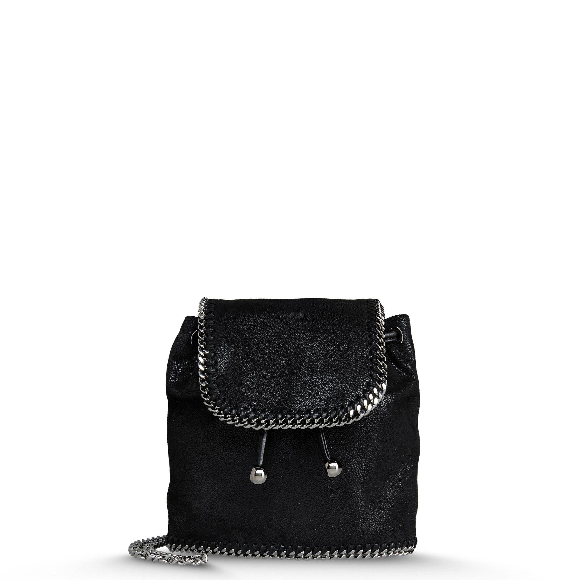 stella mccartney falabella backpack in black lyst. Black Bedroom Furniture Sets. Home Design Ideas