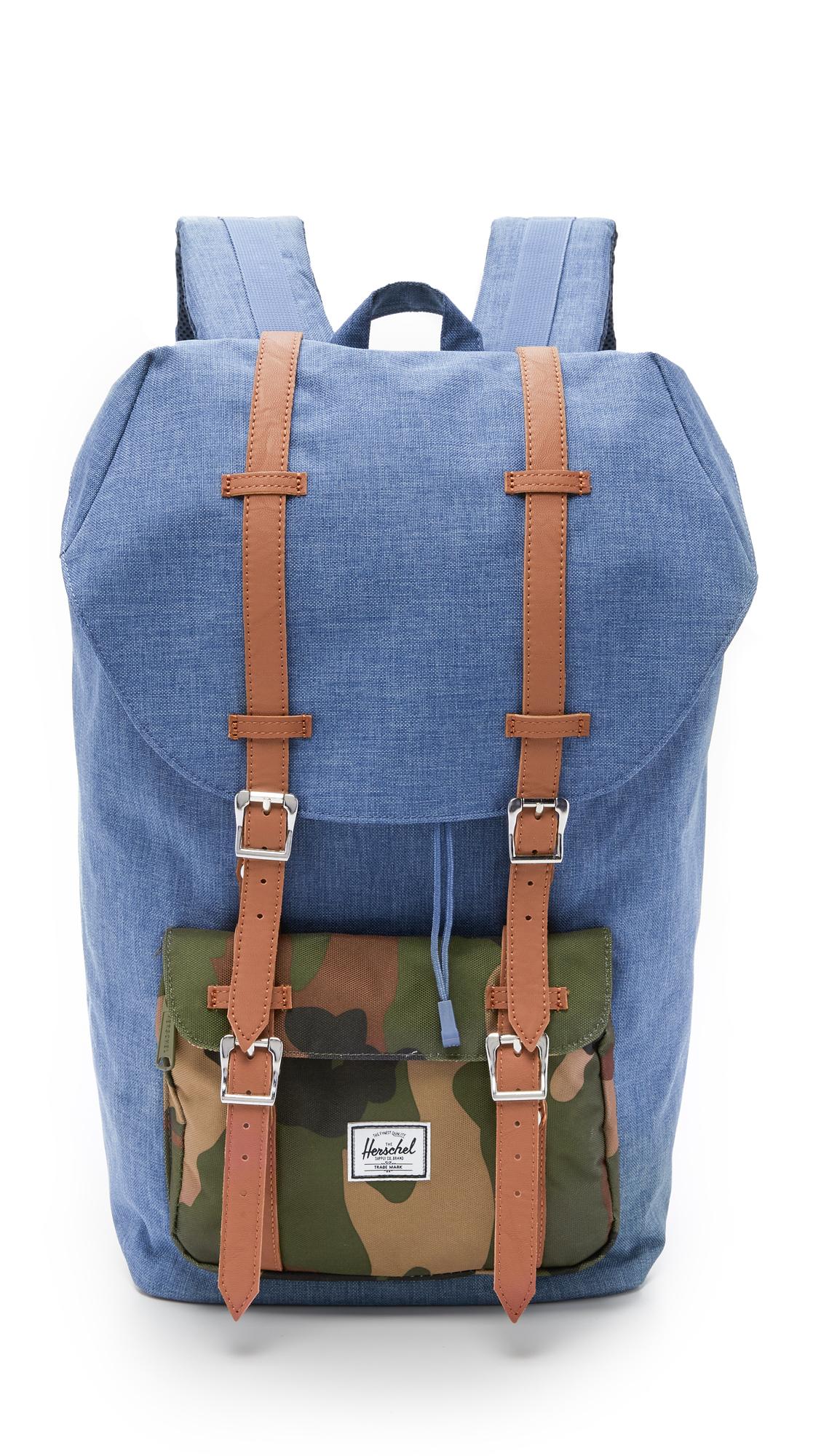 b9112818f94 Lyst - Herschel Supply Co. Little America Backpack in Blue for Men