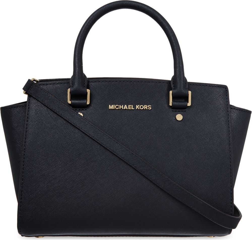 michael kors selma schwarz michael michael kors selma handtasche schwarz michael kors medium. Black Bedroom Furniture Sets. Home Design Ideas
