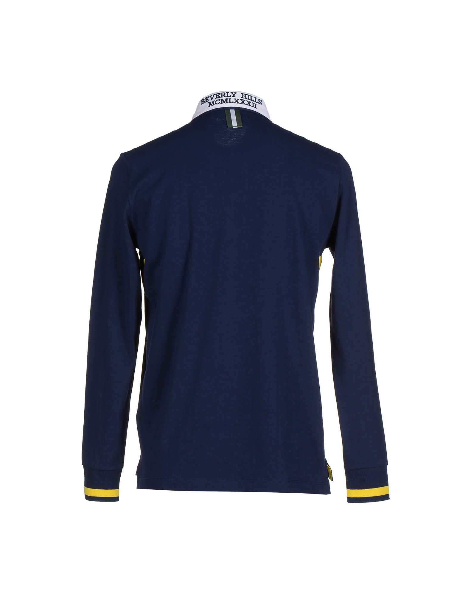 Lyst Beverly Hills Polo Club Polo Shirt In Blue For Men