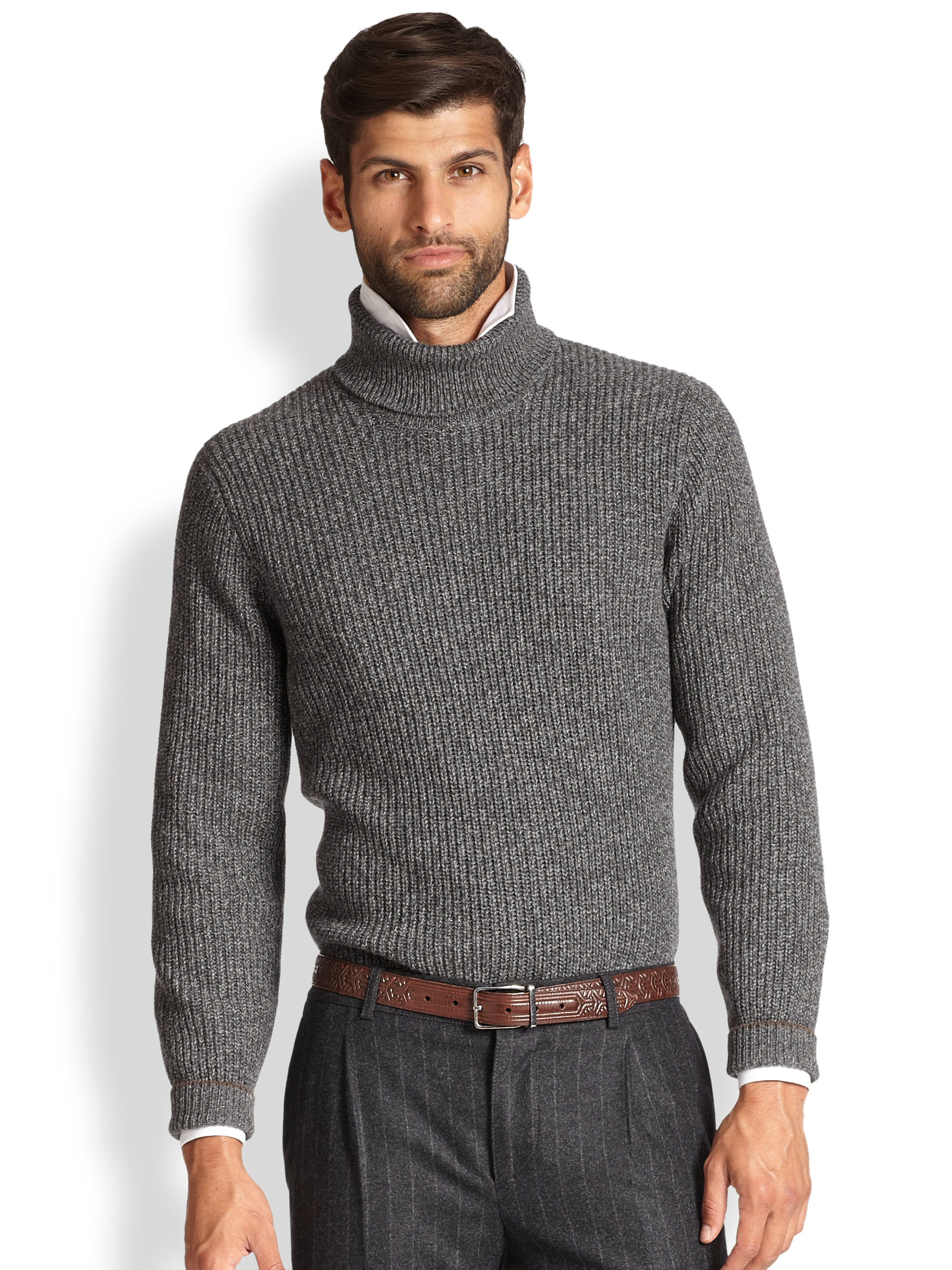 Turtleneck Sweater Men - Sweater Tunic